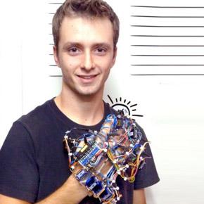 Χάρης Ιωάννου. Πρώτο βραβείο στη«Μηχανική»